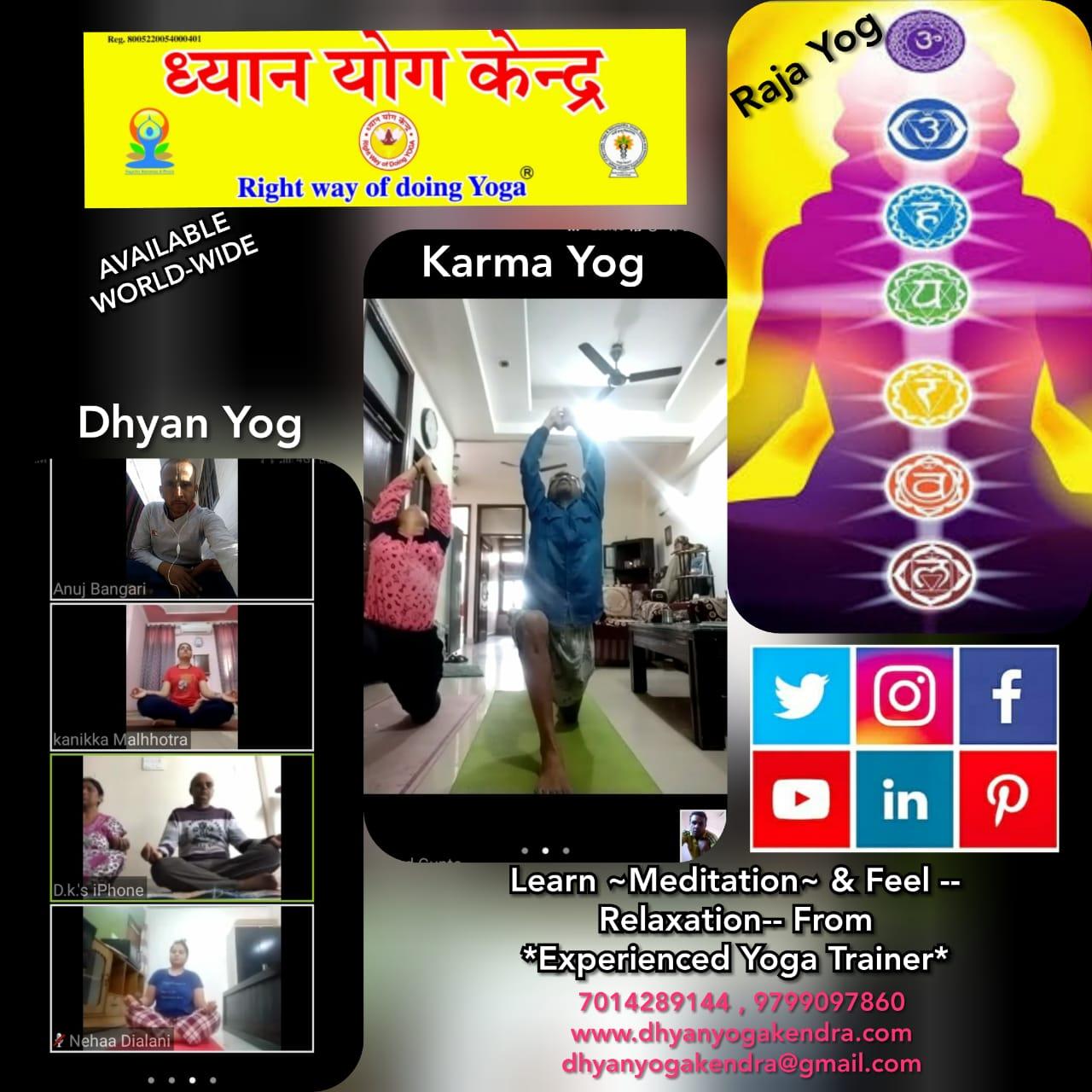 Yog Online Class
