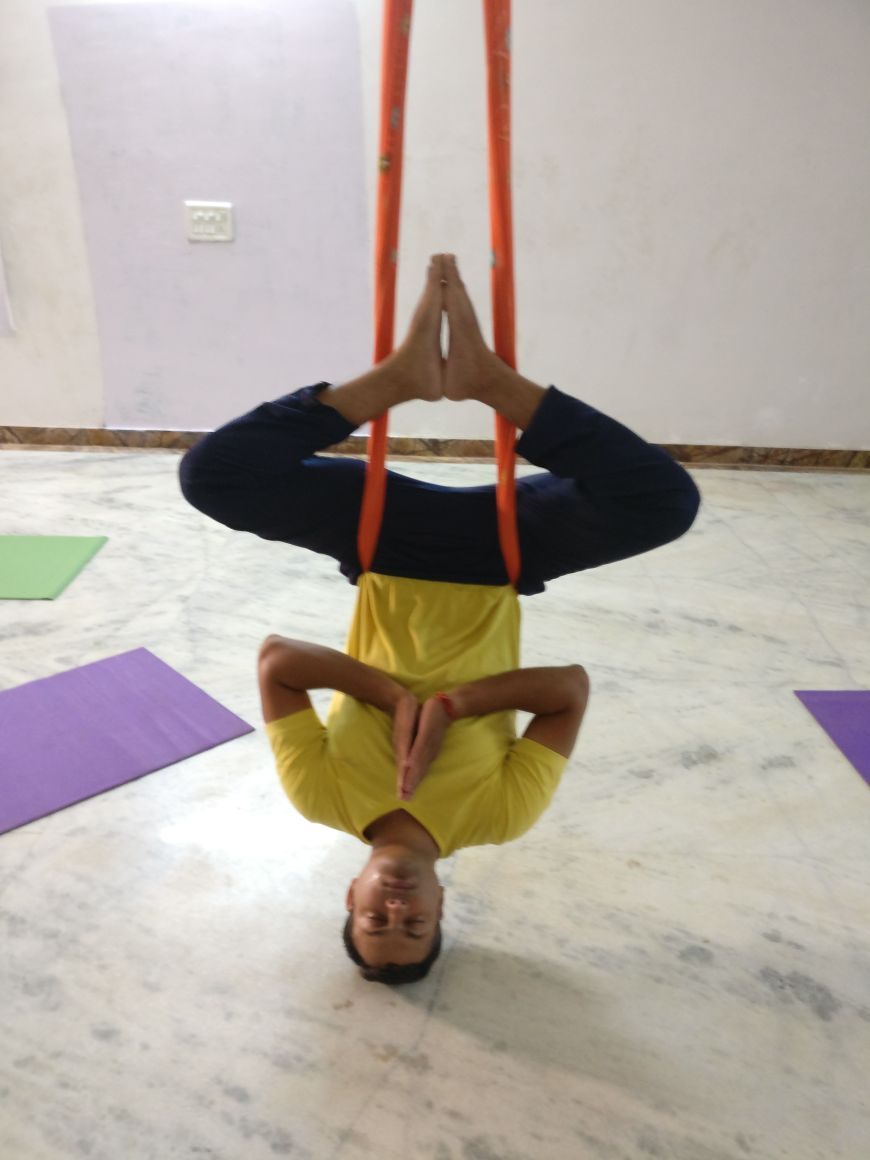 Meditation Aerial Yoga